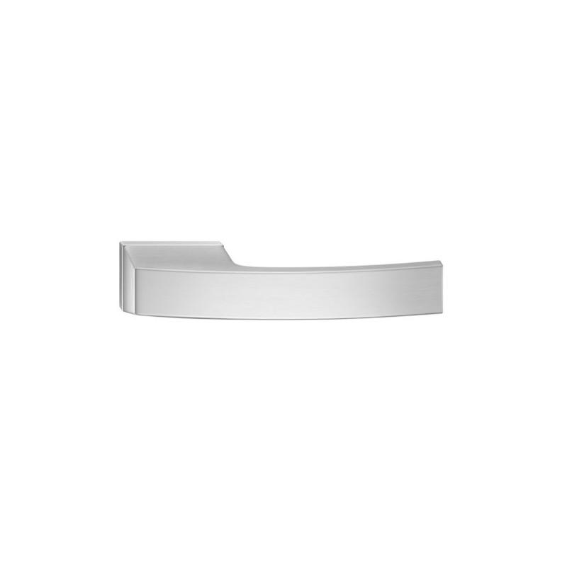 Klamka Arc z szyldem ukrytym, chrom szczotkowany matt