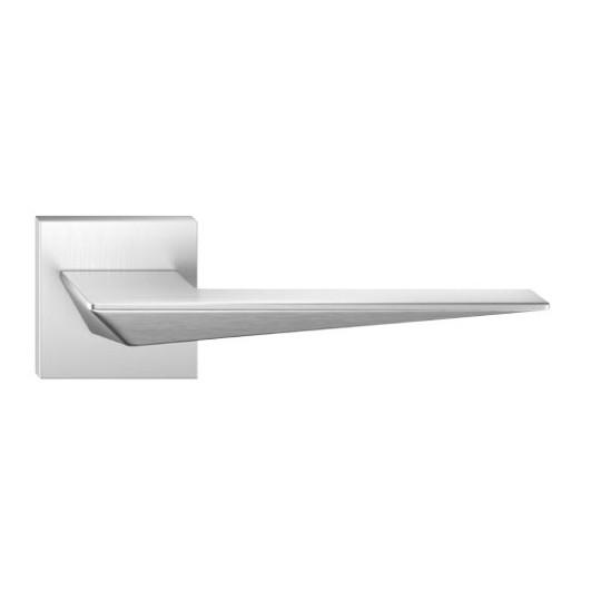 Klamka Blade szyld kwadratowy, chrom szczotkowany matt