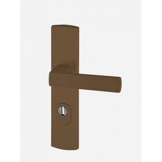 Klamka AXA Apollo FLEX z zabezpieczeniem do drzwi zewnętrznych F4