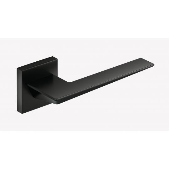 Klamka Blade szyld kwadratowy, czarna