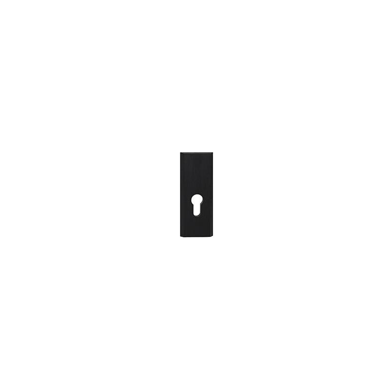 Szyld Total na wkładkę do drzwi zewnętrznych czarny