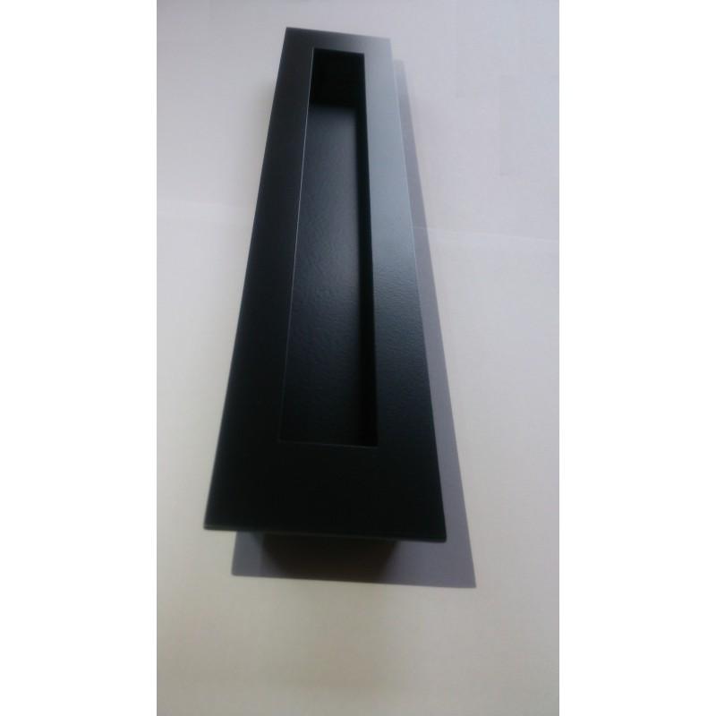 Uchwyt JNF IN16416 czarny do drzwi przesuwnych (55 x 300 mm)