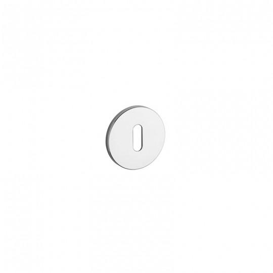 Rozeta na klucz Aprile R 5S szyld okrągły 5mm, średnica 52mm, chrom połysk