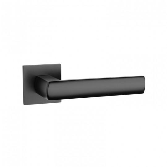 Klamka Tupai 4161Q 5S 153 szyld kwadratowy czarny