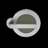 Klamka SATURN Manital okrągła rozeta chrom błyszczący/szary