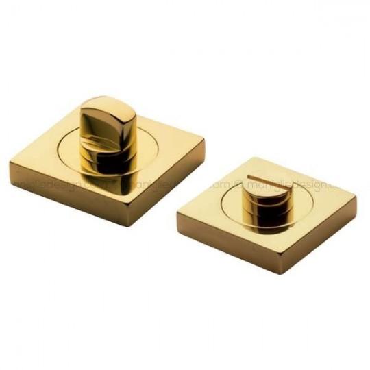 Klamka LUX Manital kwadratowa rozeta CSA chrom satyna z kryształkami SWAROVSKIEGO