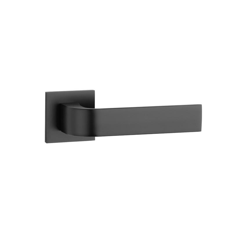 Klamka Tupai 2732Q 5S 153 szyld kwadratowy 5 mm czarny