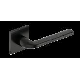 Klamka Scandi Slim szyld płaski kwadratowy, czarny