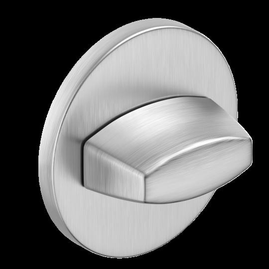 Szyld okrągły Slim WC, chrom szczotkowany