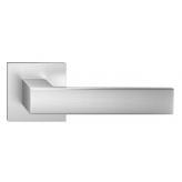 Klamka Focus Slim szyld płaski kwadratowy, chrom szczotkowany