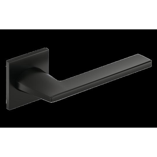 Klamka Harmony Slim szyld płaski kwadratowy, czarny