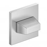 Szyld kwadratowy Slim WC, chrom szczotkowany