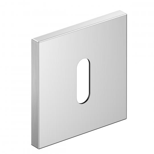 Szyld kwadratowy Slim na klucz, chrom szczotkowany