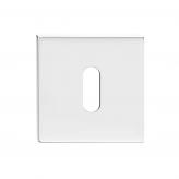 Szyld kwadratowy Slim na klucz, chrom błyszczący