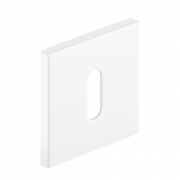 Szyld kwadratowy Slim na klucz, biały