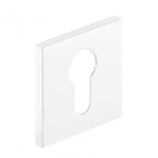 Szyld kwadratowy Slim na wkładkę, biały