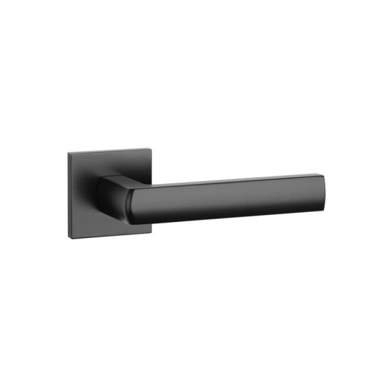 Klamka Aprile Hosta Q slim szyld kwadratowy 7mm BLACK czarny