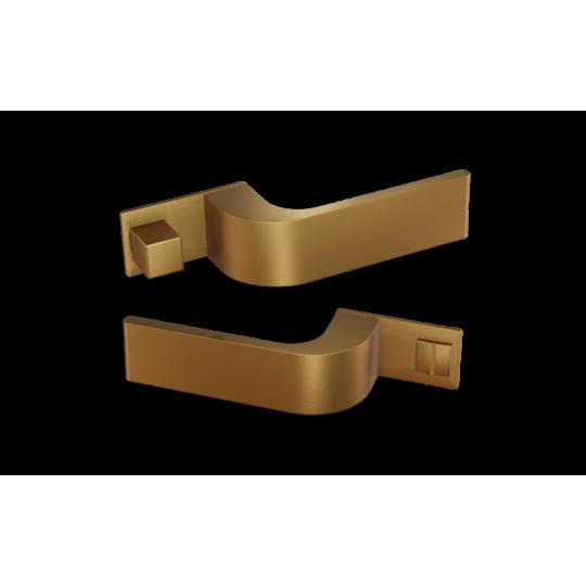 Klamka  NANO MAGNETIC NM612 Comit złoty satyna + zamek magnetyczny