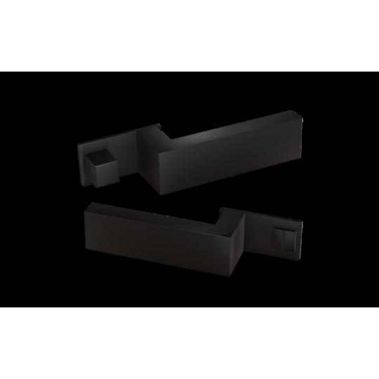 Klamka  NANO MAGNETIC NM599 Comit czarny matowy + zamek magnetyczny
