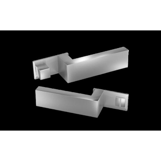 Klamka  NANO MAGNETIC NM599 Comit chrom satyna + zamek magnetyczny