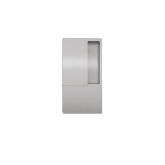 Klamka drzwiowa WAVE chrom matowy