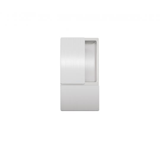 Klamka drzwiowa WAVE Anodowane srebro