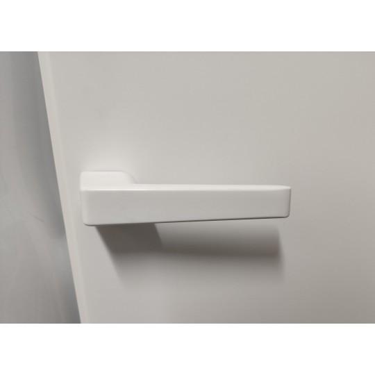 Klamka Obliq Reguitti kolor biały